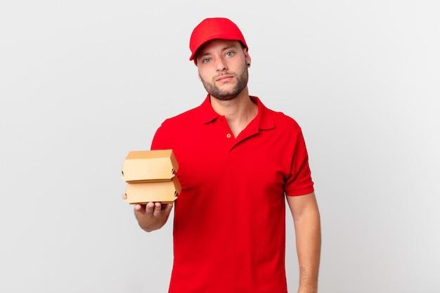 Burger dostarcza człowieka, który czuje się zdezorientowany i zdezorientowany