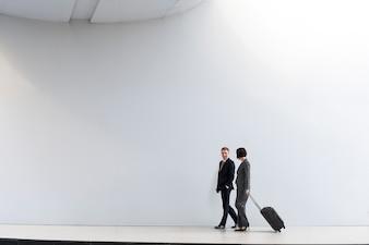 Business People Coworkers Traveller Trip