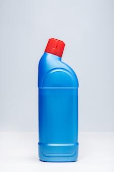 Butelka do czyszczenia wc. niebieski plastikowy pojemnik