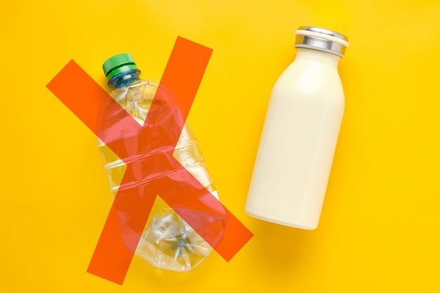 Butelka metalowa a butelka plastikowa