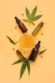 Butelka na naturalny olej z konopi indyjskich