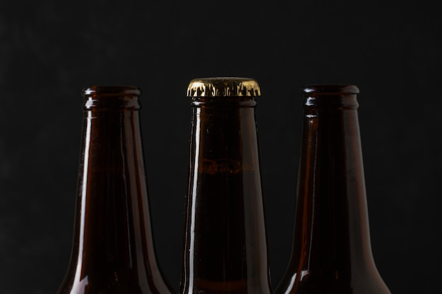 Butelki do piwa z zamknięciem