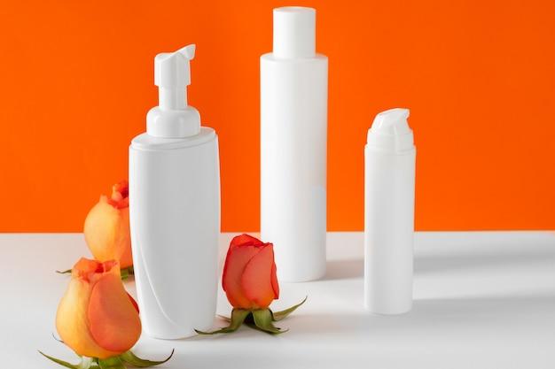 Butelki kosmetyczne z płatków róży, miejsce