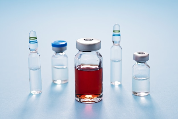 Butelki na leki i szczepionki