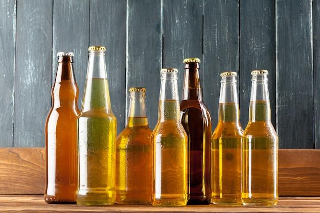 Butelki z piwem