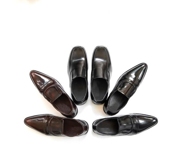 Buty biznesowe moda mężczyzna