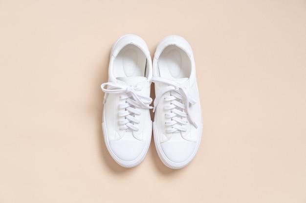 Buty damskie skórzane trampki