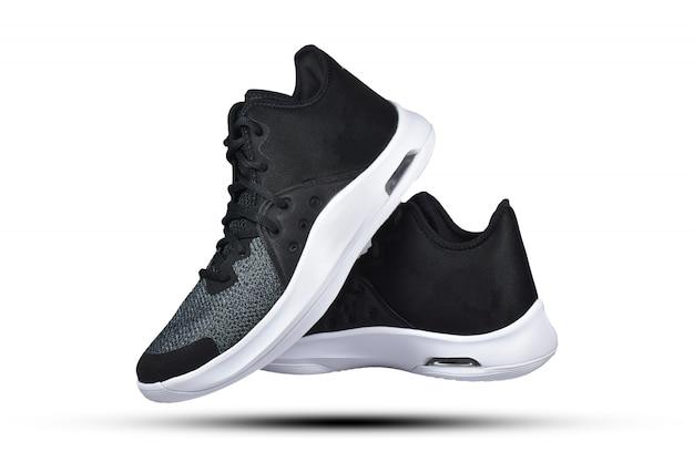 Buty do biegania na białym tle