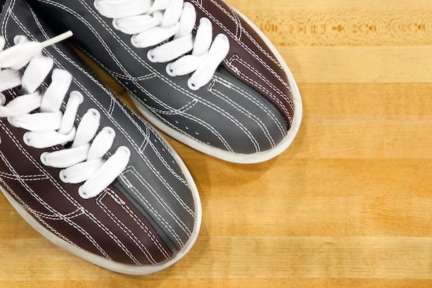 Buty do kręgli gotowe do gry