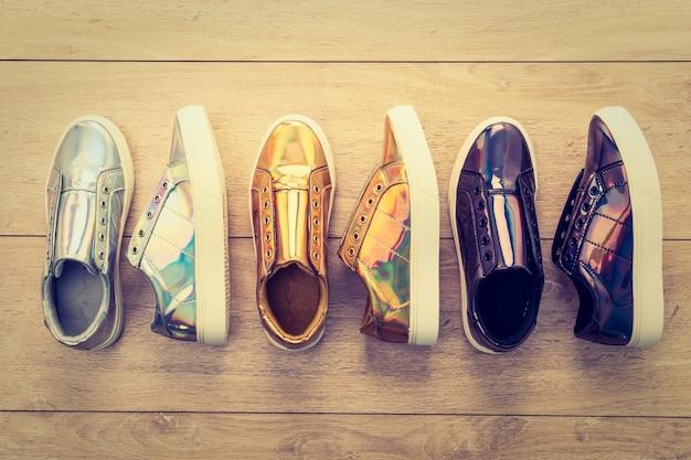 Buty do mody i tenisówka