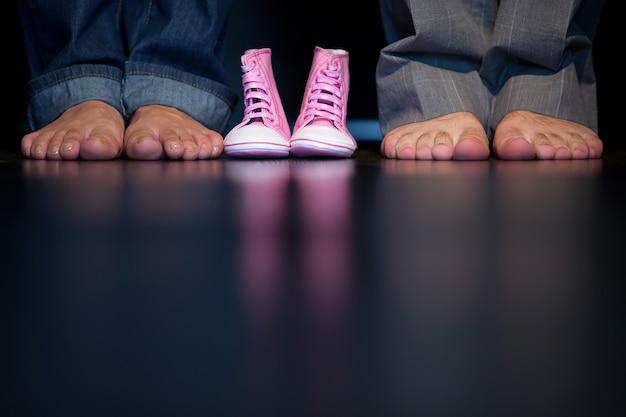 Buty i stopy dziecięce