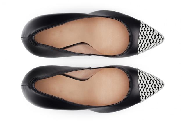 Buty odizolowywający na białym tle