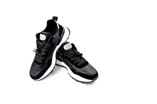 Buty sportowe na białym tle