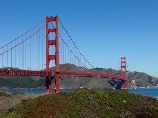 California, goldengate, mosty
