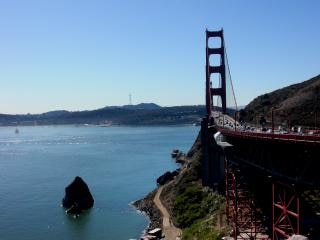 California, mosty, zatoki