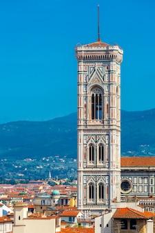 Campanile di giotto we florencji we włoszech