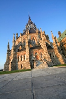 Canadian parlament biblioteka hdr