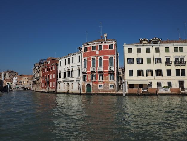 Canal grande w wenecji