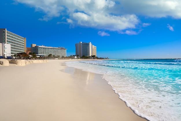 Cancun forum plaża playa gaviota azul