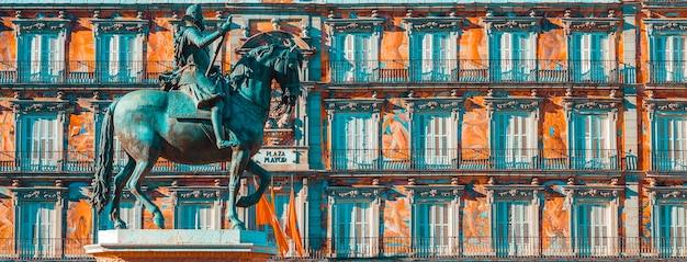 Casa de la panaderia, plaza mayor, madryt, hiszpania