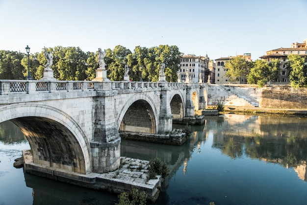 Castel and ponte sant'angelo, rzym