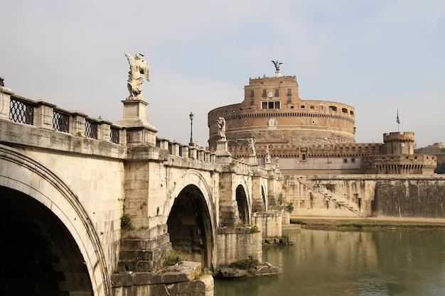 Castel sant 'angelo, rzym, włochy