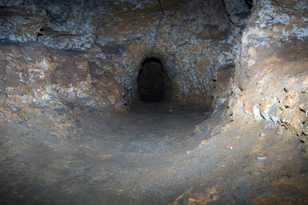 Catacombe paleocristiane di porta d'ossuna w palermo, sycylia