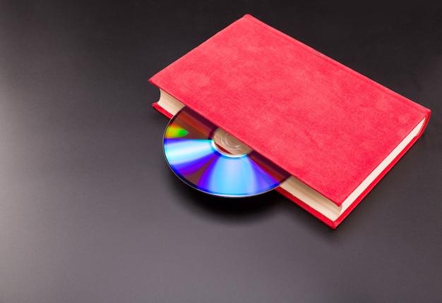 Cd to dysk wystaje z czerwonej księgi