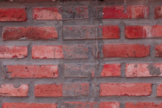 Cegła ściana tekstury tła