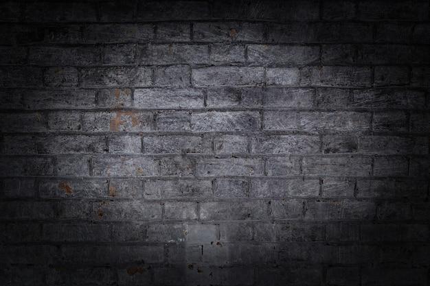 Cegła tekstura tło grunge z winietowanymi narożnikami, może służyć do projektowania wnętrz
