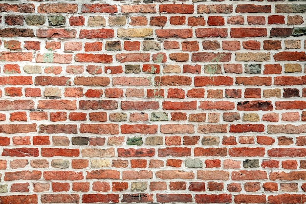 Ceglana ściana tła