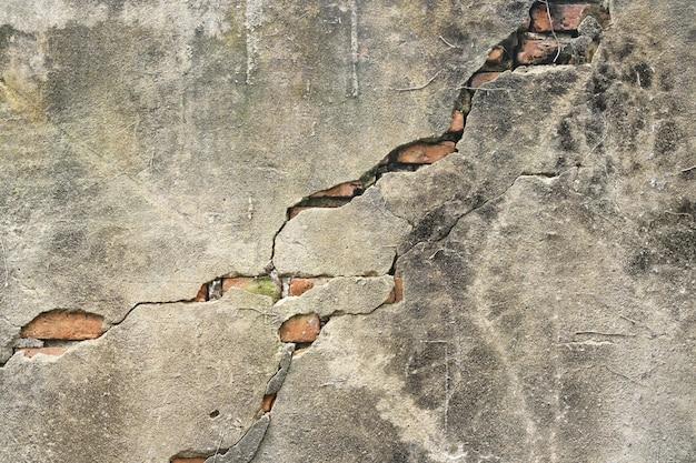 Ceglana stara ściana