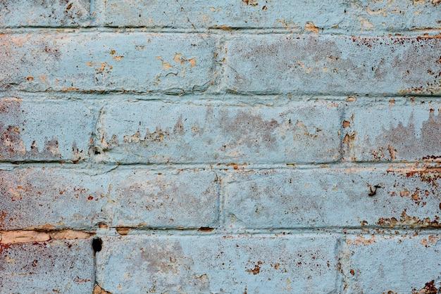 Ceglana tekstura z zadrapaniami i pęknięciami
