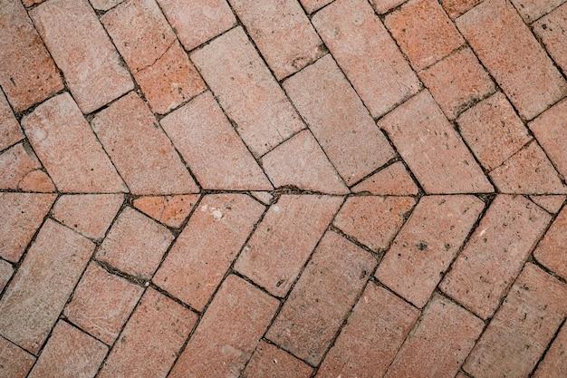 Ceglane podłogi tekstura tło