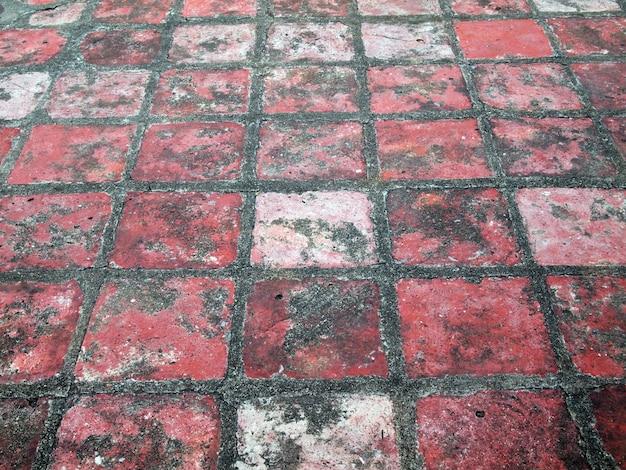 Ceglany chodnik tło