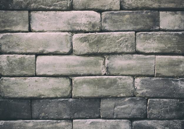 Ceglany mur tekstury lub tła - vintage filter