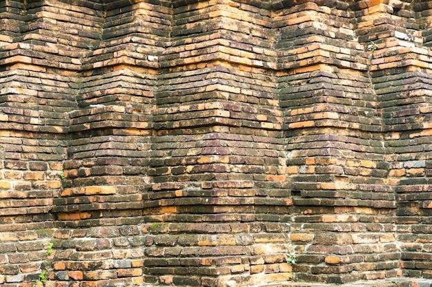 Ceglany mur tekstury na tle