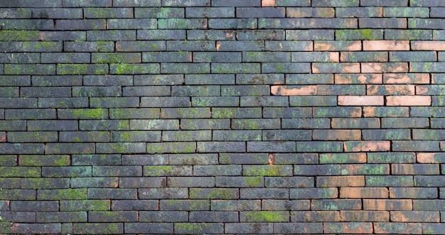 Ceglany mur tekstury tła do dekoracji wnętrz nowoczesny design