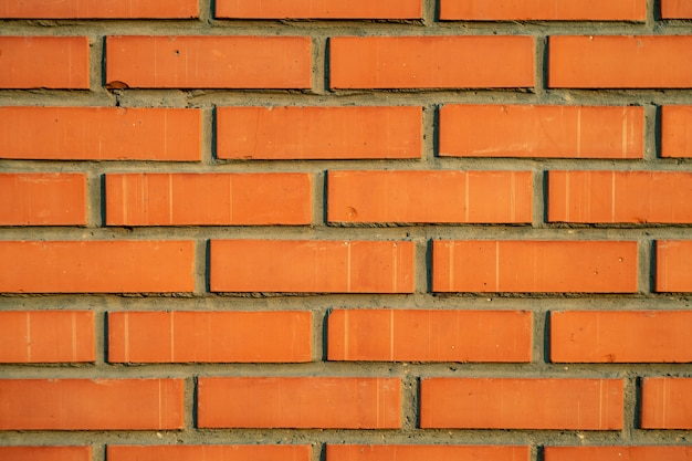 Ceglany mur tekstury tła naturalnego koloru - obrazu