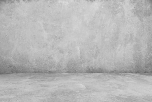 Cementowe podłogi i ściany tła, pokój, wnętrze, produkty wystawowe.