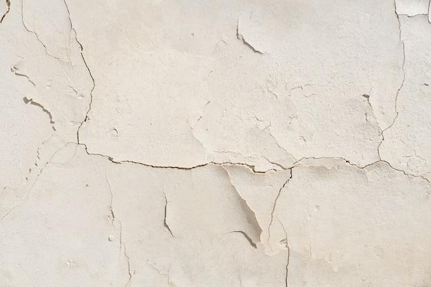 Cementu popękane ściany