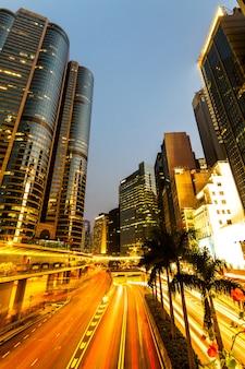 Centrum biznesowe w hongkongu.
