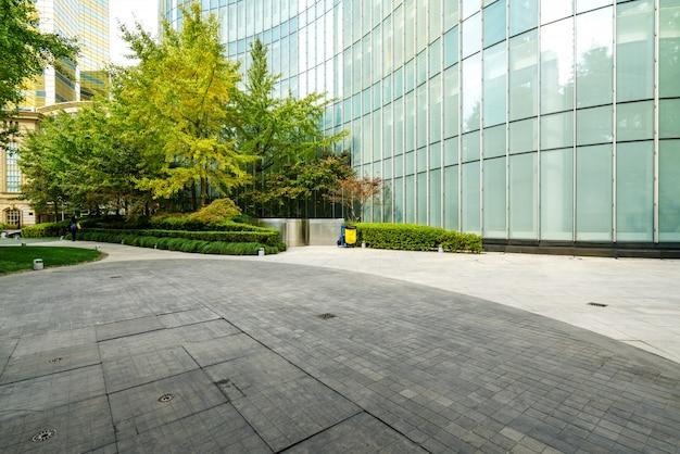Centrum finansowe budynek biurowy w lujiazui, szanghaj, chiny