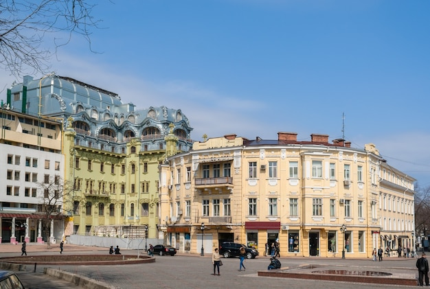 Centrum odessy. ukraina