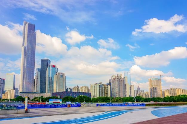 Centrum słynnego krajobrazu budynku centrum