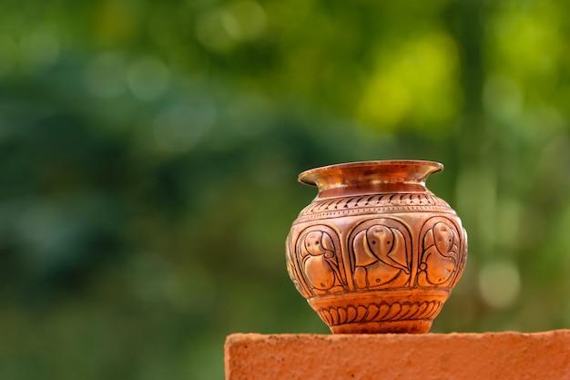 Ceremonia ślubna maharashtra: coper kalash