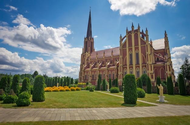 Cerkiew świętej trójcy, wieś gerwiaty, obwód grodzieński, białoruś