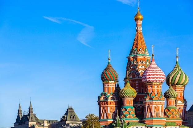 Cerkiew wasyla błogosławionego na placu czerwonym w moskwie