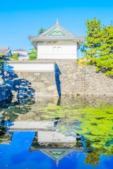 Cesarski pałac w tokio japan