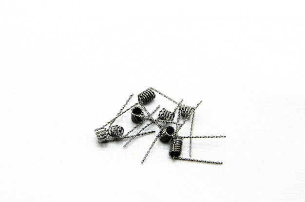 Cewki do papierosów elektronicznych i dłoni